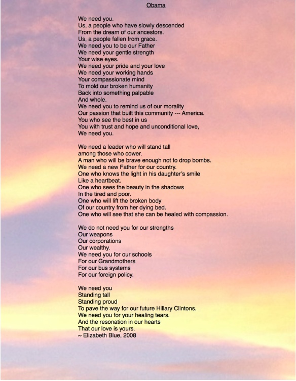 Obama Poem