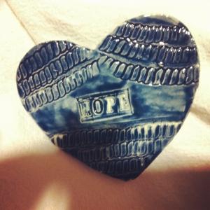 Elizabeth Blue heart of hope