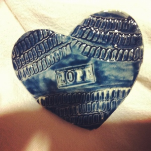 Elizabeth Blue heart of hope