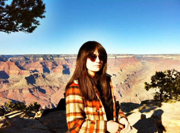 Elizabeth Blue at the Grand Canyon