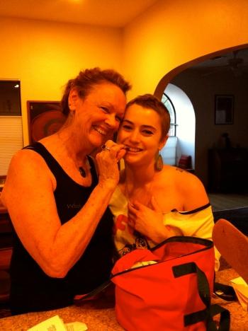 Elizabeth Blue, raw food, Kathleen Bowman,