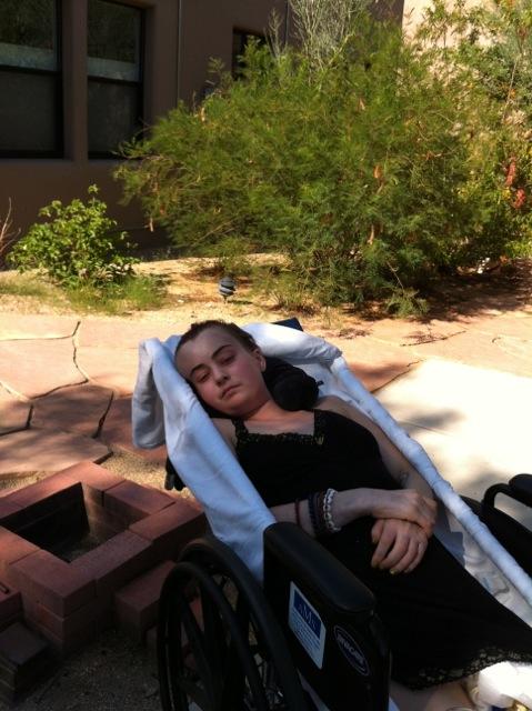 Elizabeth Blue. hospice,