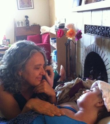 Elizabeth Blue, Elizabeth Meagher, Zelie Duvauchelle, hospice