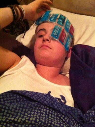 Elizabeth Blue, Elizabeth Meagher, hospice