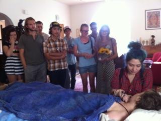 Samantha Salazar, Elizabeth Blue, Elizabeth Meagher, hospice