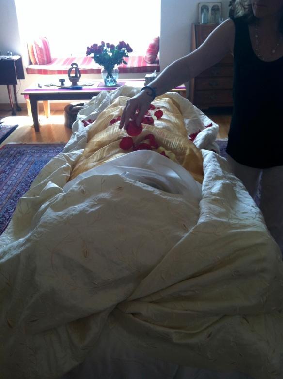 Elizabeth Blue, home funeral