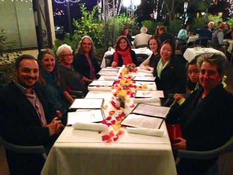 Lucia Maya, birthday dinner