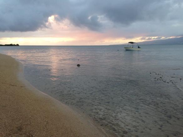 Molokai, Hawaii, sunrise,