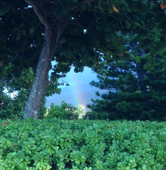 rainbow, Molokai, Hawaii,